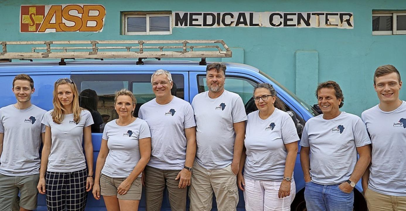 Das OP-Team in Gambia   | Foto: Verein