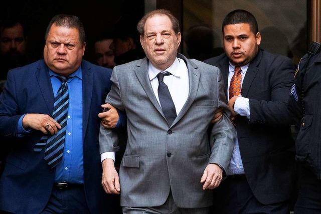 Der Prozess gegen Harvey Weinstein beginnt am Montag