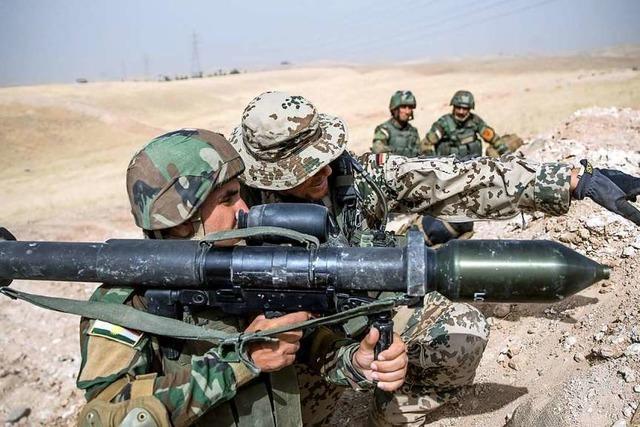 Bundeswehr setzt Ausbildung von Sicherheitskräften im Irak aus