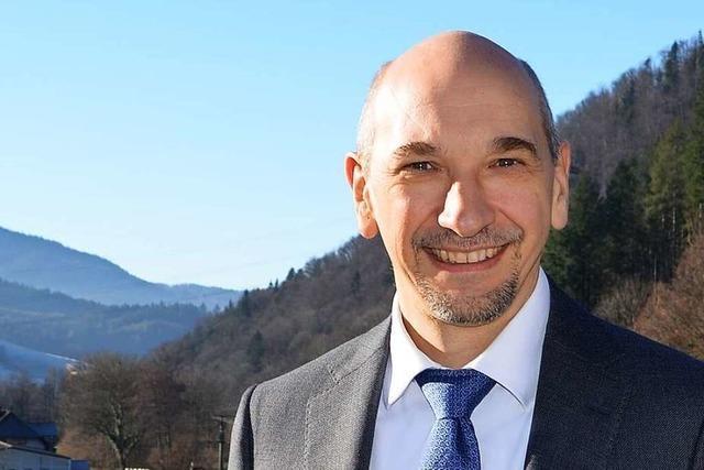Ralf Kaiser kandidiert bei der Bürgermeisterwahl in Buchenbach