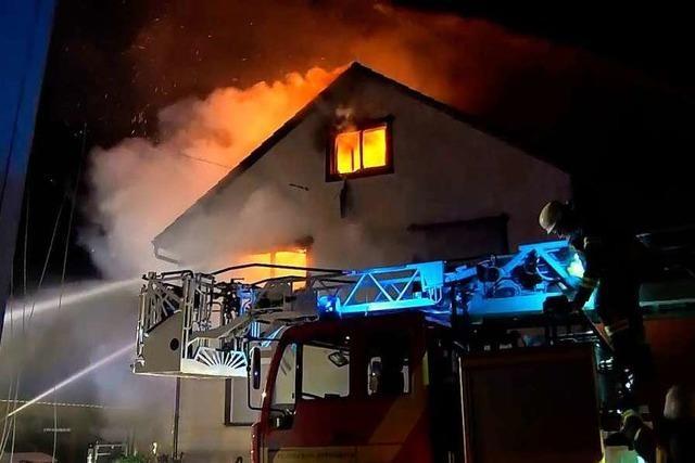 Wie eine Familie nach einem verheerenden Brand weiterlebt