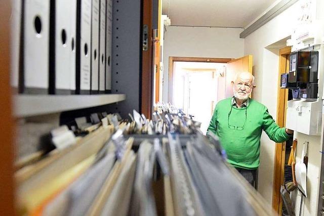 200 Jahre Kanderner Stadtgeschichte: Ein Blick in das Archiv eines Heimatforschers