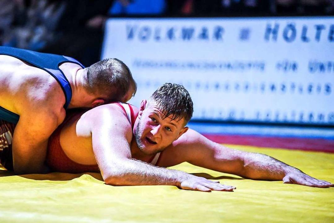 Nach zwei Halbfinal-Teilnahmen in Folg...ghausen im Rückkampf klar unterlegen.     Foto: Gerd Gruendl