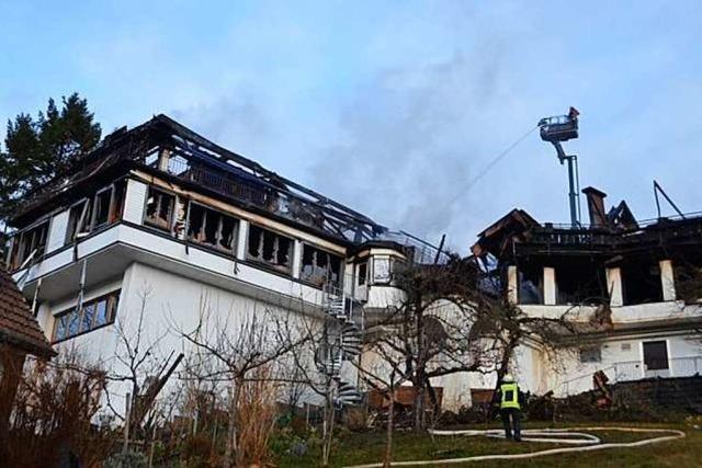 Schwarzwaldstube abgebrannt: Ein Stammhaus ist nicht mehr