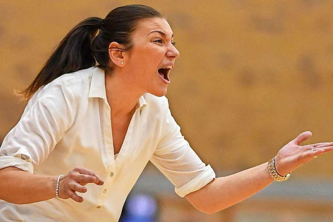 USC-Trainerin Hanna Ballhaus  | Foto: Patrick Seeger