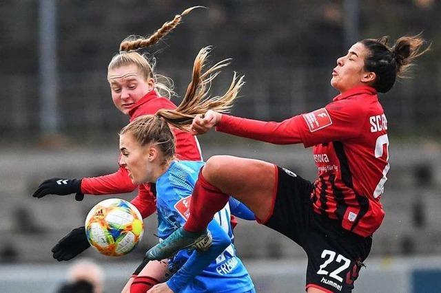 Bei den Frauen des SC Freiburg läuft es diese Saison nicht rund