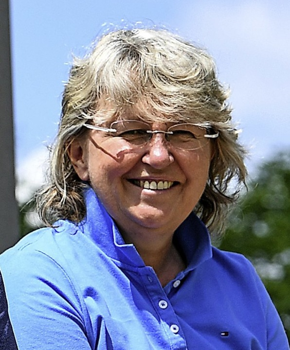 SC-Managerin und Stadt-Botschafterin Birgit Bauer  | Foto: Patrick Seeger