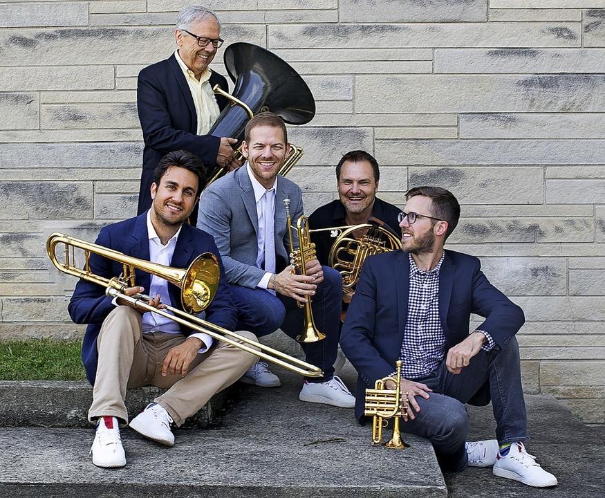 Die Musiker von Canadian Brass  | Foto: Announcment Image
