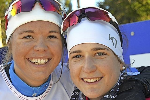 Lina Gold und Christian Winker skaten die schnellsten Zeiten