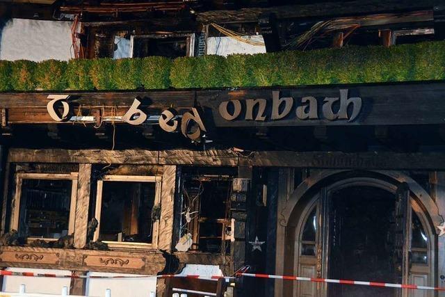 Traube Tonbach: Das ausgebrannte Restaurant war ein Pilgerort für Feinschmecker