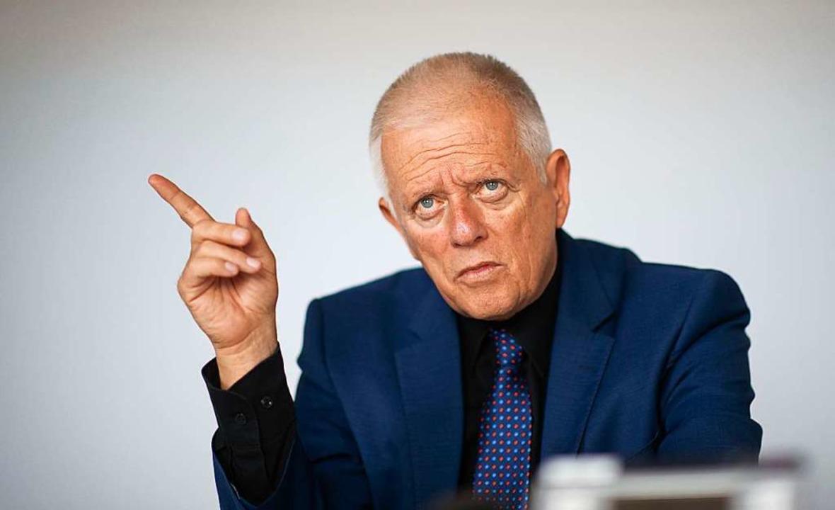 Die Grünen müssen sich einen neuen Kan...aber Fritz Kuhn tritt nicht wieder an.  | Foto: Marijan Murat (dpa)
