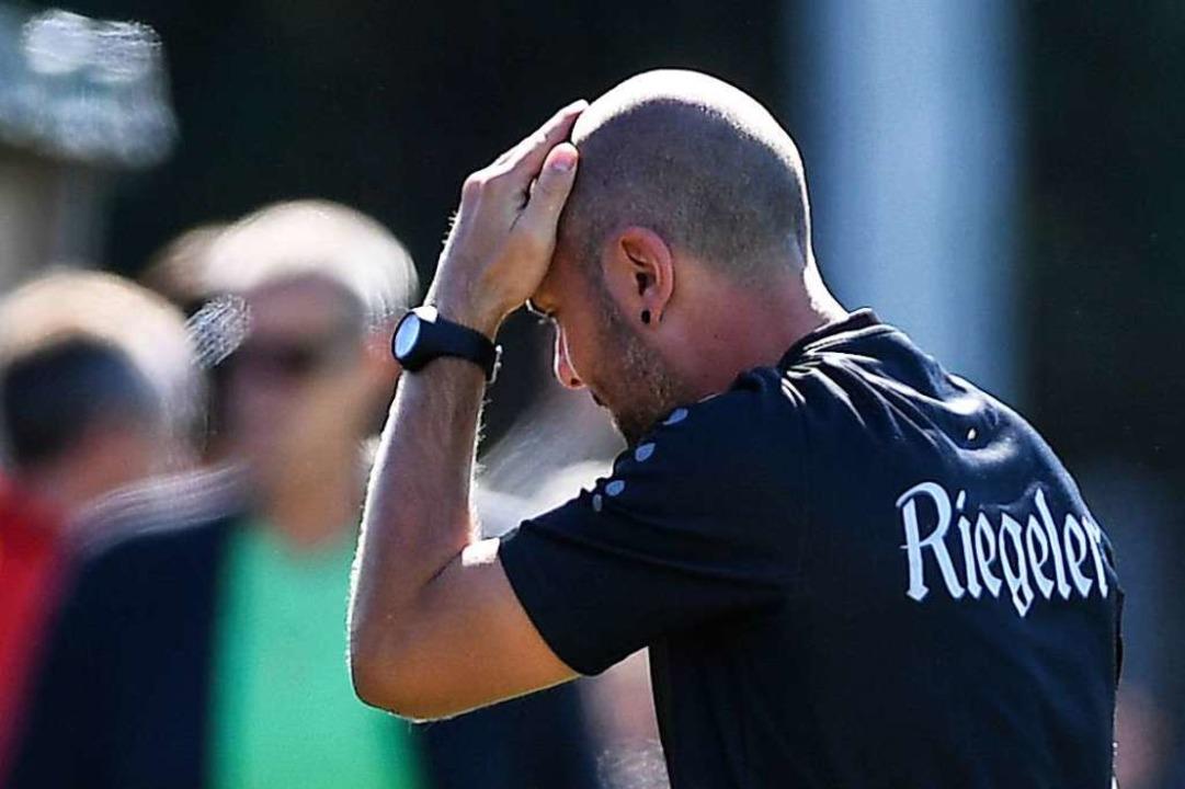 Die Hinrunde war für Spöri und sein Team nicht einfach.  | Foto: Patrick Seeger