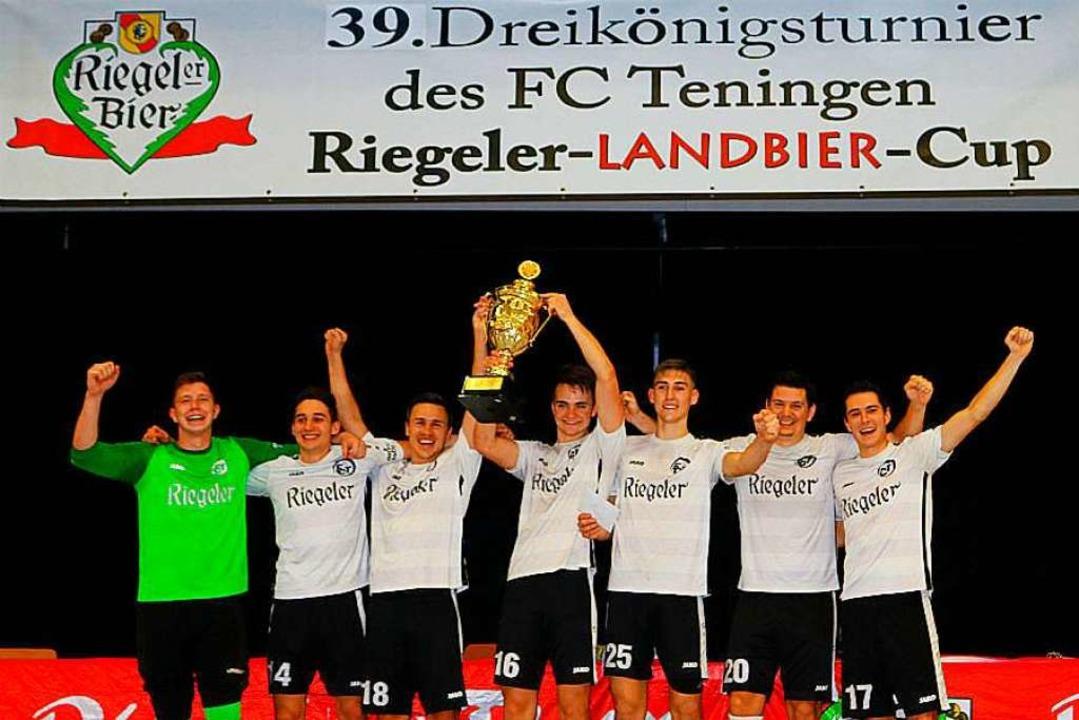 Das Siegerteam des FC Teningen.  | Foto: Fritz Zimmermann