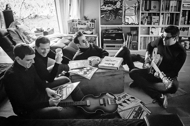 The Mean Musterds spielen Songs der Beatles im Schlachthof