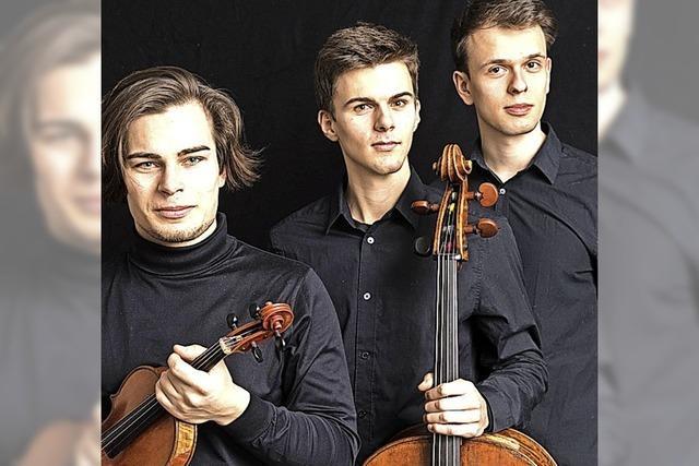 Preisträchtiges Trio zu Gast