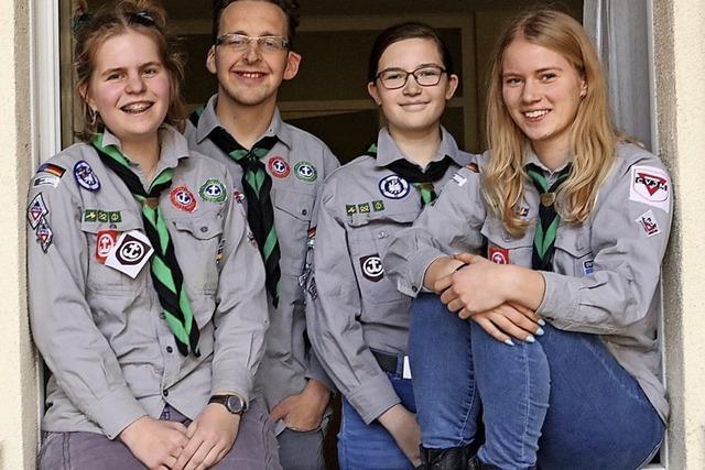 Scouts des CVJM gründen Gruppe