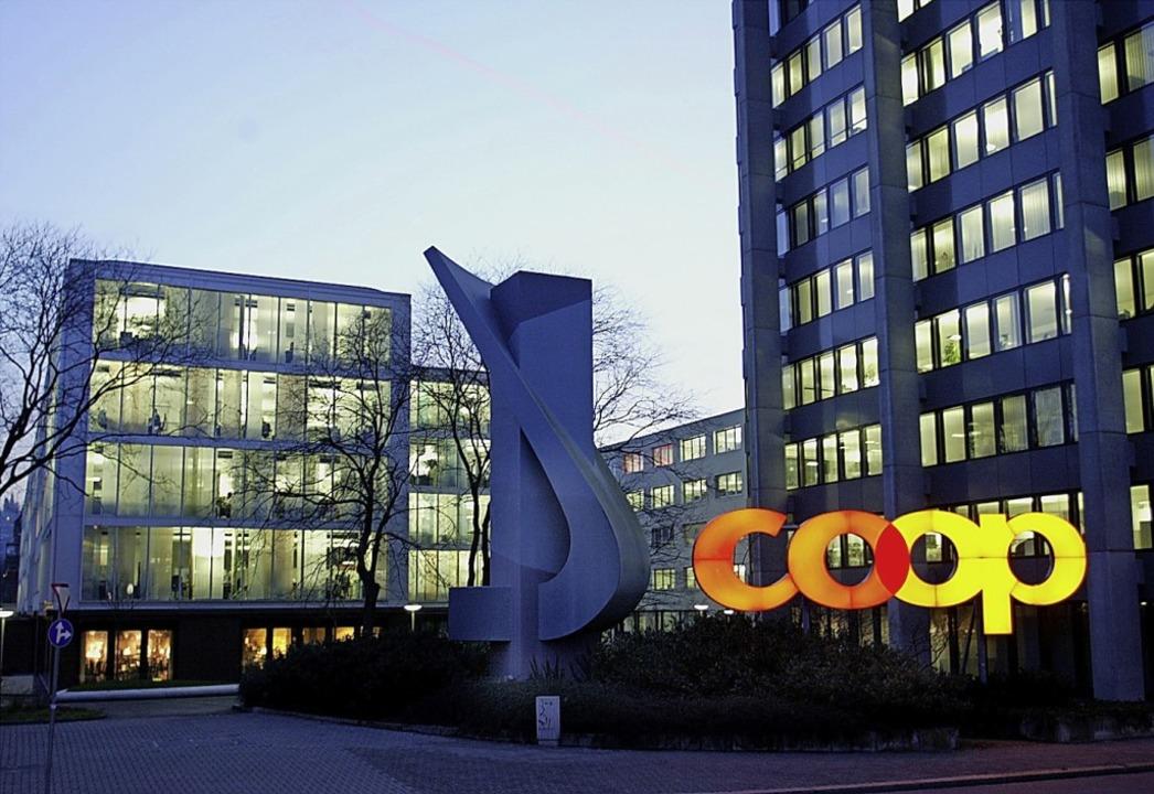 Der Basler Hauptsitz von Coop   | Foto: Georgios Kefalas