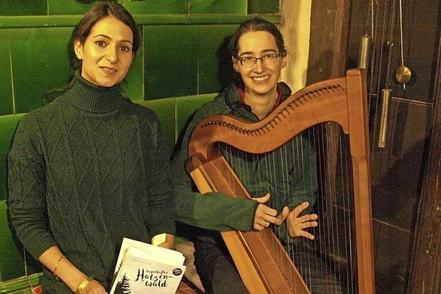 Zur Stubenmusik gibt es Sagenhaftes aus dem Hotzenwald