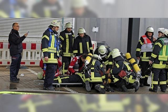 Einsatz bei sieben Bränden