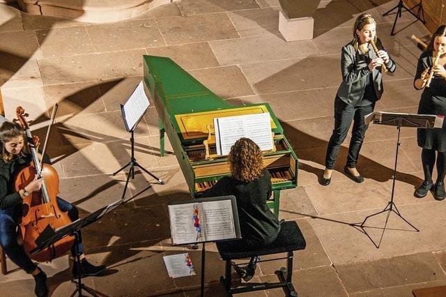Jugend beschert feierliche Musik