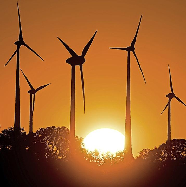 Der Windkraft-Ausbau stockt.  | Foto: Patrick Pleul