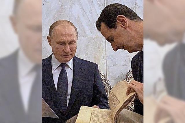 Putin macht Assad seine Aufwartung