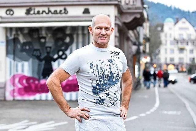 Für Bäcker Bernd Lienhart war 2019 ein Jahr des Abschieds und Aufbruchs