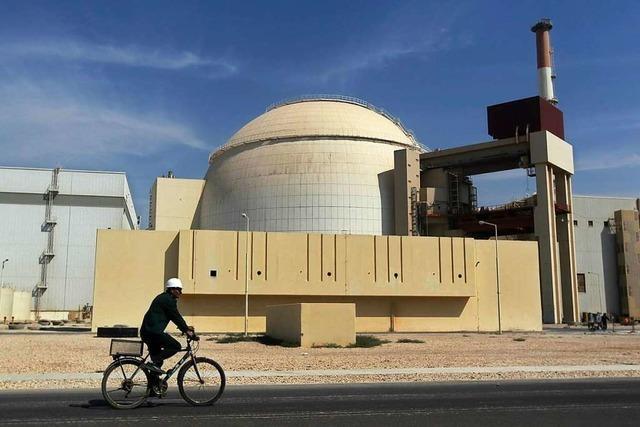 Erdbeben erschüttert Region nahe eines Atomkraftwerks im Südiran