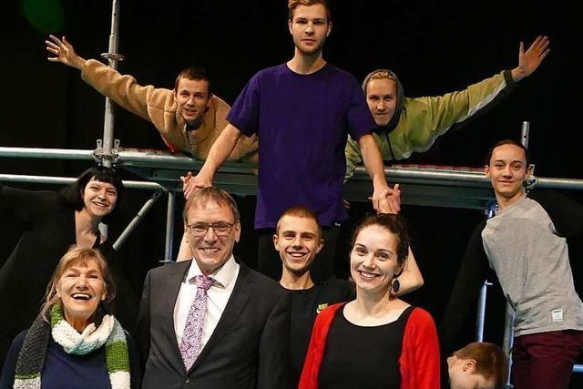 Das Gesamtbudget vom Theater Tempus fugit liegt bei einer Million Euro