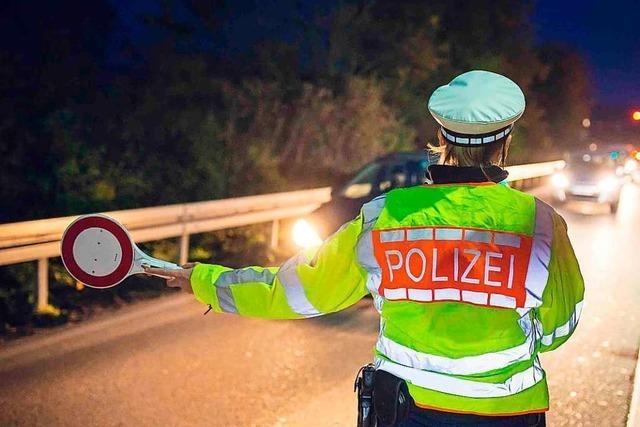 Polizei stoppt in Umkirch Fahrer ohne Führerschein und unter Drogeneinfluss