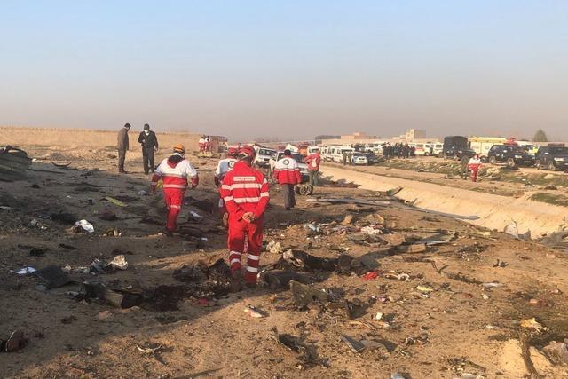 Flugzeug nahe Teheran abgestürzt – drei Deutsche unter den Opfern