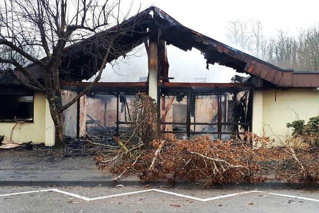 Der verheerende Brand im Kindergarten Seeboden in Wehr trifft die Stadt mit aller Härte