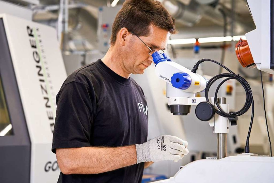 Präzision auch in der Fertigung: PTW-Produktion   | Foto: PTW