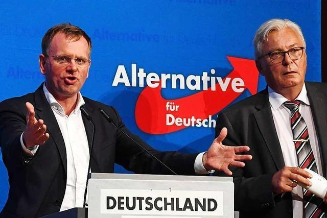 Machtkampf in der Südwest-AfD: Sonderparteitag in Böblingen geplant