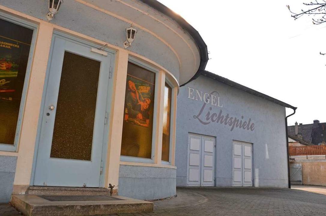 Seit 100 Jahren sind  im Breisacher Kino Filme zu sehen.  | Foto: Simon Krause