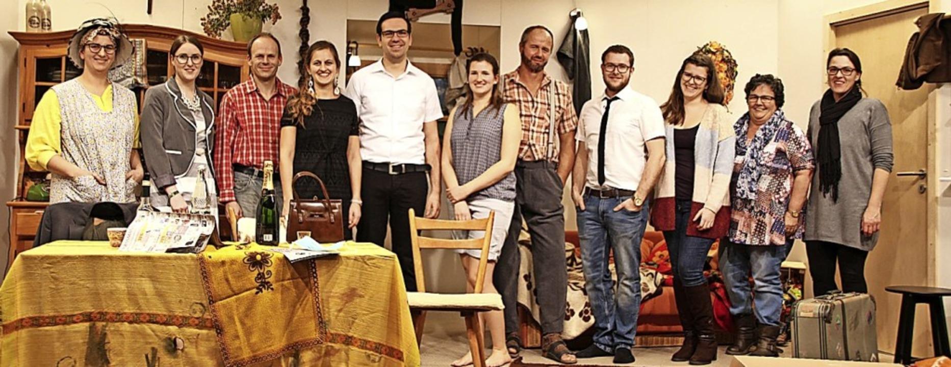 Das Theaterteam (von links): Christine...in Elke Keller und Silke Wissmann-Gut.  | Foto: suedkurier