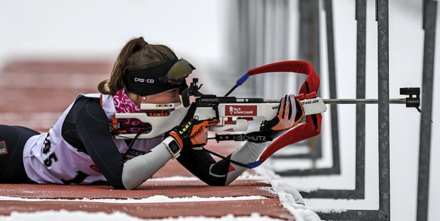 Zweitschnellste Laufzeit bei  fünf Feh...odtnau wurde Dritte  der Jugend 16/17.  | Foto: Gerd Gruendl