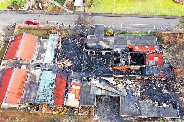 Nach dem Brand des Kindergartens in Wehr gibt es Hinweise auf Böller