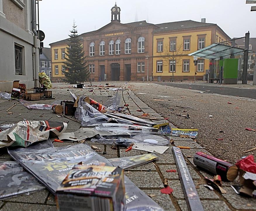 Der Morgen danach     Foto: Bastian Bernhardt