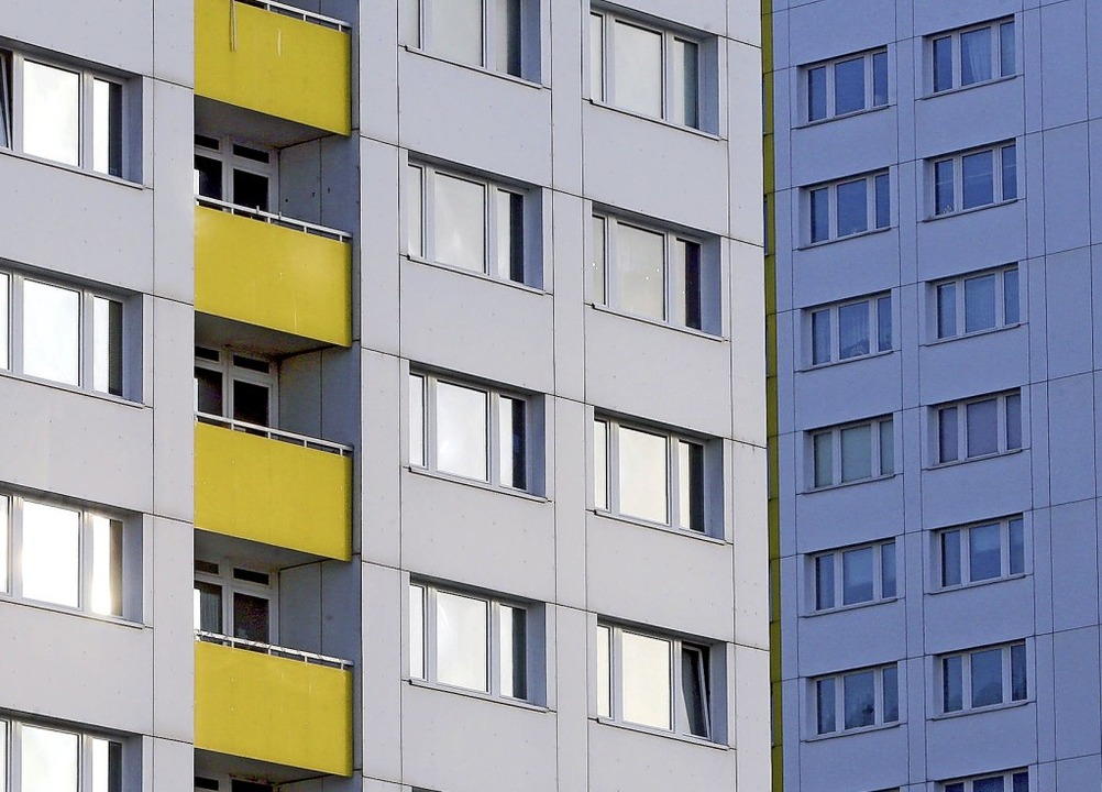 In Neuenburg bewegt sich das Mietnivea...meter – ähnlich wie in Müllheim.  | Foto: Wolfgang Kumm