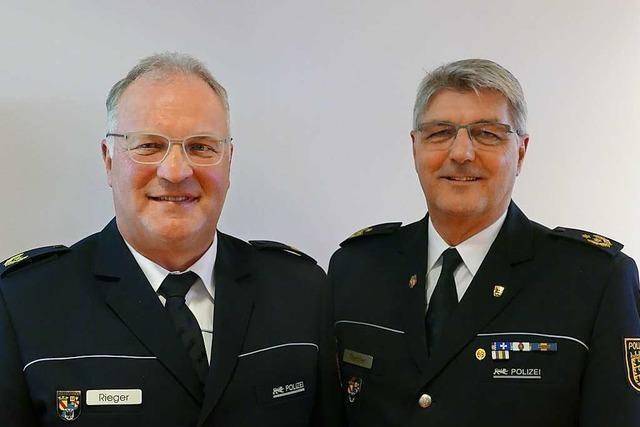 Führungsteam des Polizeipräsidiums Offenburg ist erstmals seit der Reform komplett