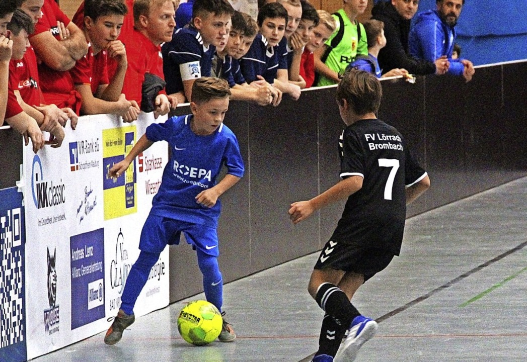 Spieler des Turniers: Lian Eckermann v... Finale gegen den FV Lörrach-Brombach     Foto: Monika Weber
