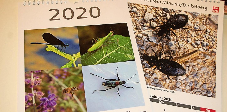 Die Bilder haben einige SPD-Mitglieder gemacht und in einem Kalender gesammelt.   | Foto: Petra Wunderle