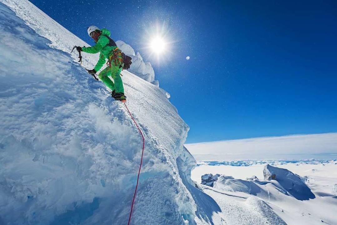Robert Jasper, einer der besten Eiskle... wieder die Führungsarbeit übernommen.  | Foto: Klaus Fengler