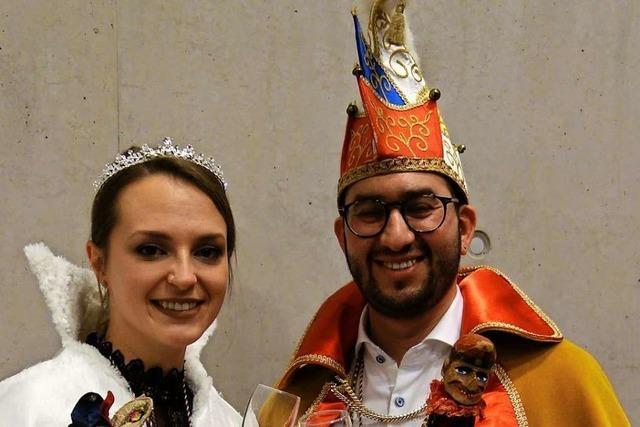 Das ist das neue Prinzenpaar der Malteserfunken Heitersheim