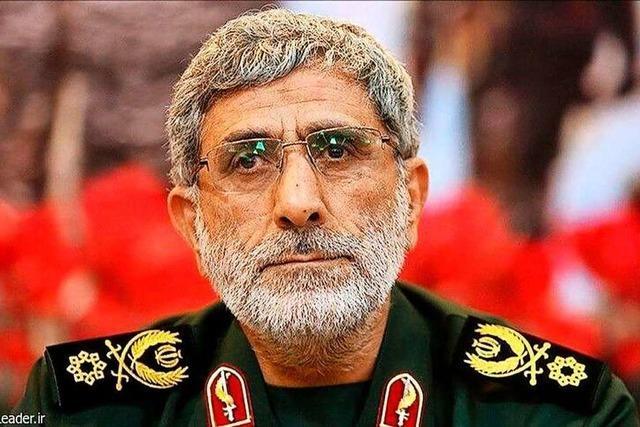 Ismail Gha'ani ist der Nachfolger des getöteten Generals Ghassem Soleimani