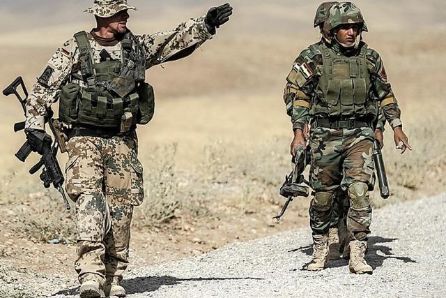 Auch die Bundeswehr in Erbil war vorgewarnt
