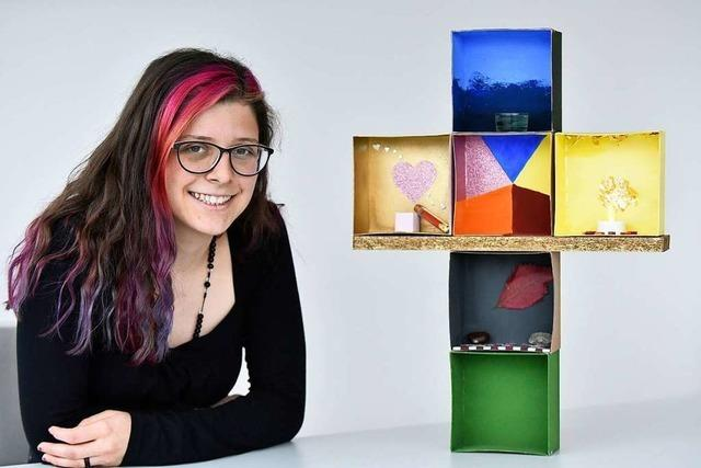 Eine 20-Jährige hat 2019 in Freiburg ihren Glauben erforscht