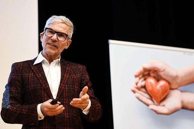 Beim Forum Gesundheit sprach Michael Despeghel über das biologische Alter