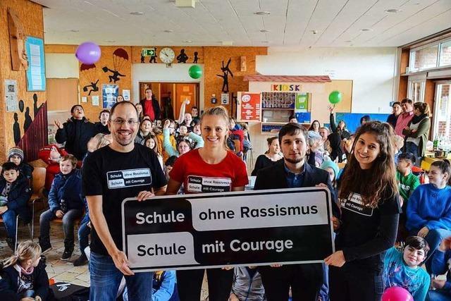 Die Lilienhofschule in Staufen zeigt Courage
